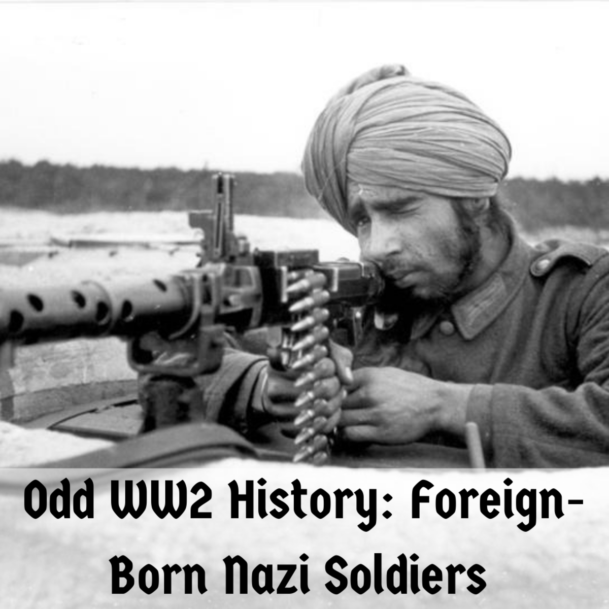 Learn all about the foreigners who fought for Nazi Germany in World War II.