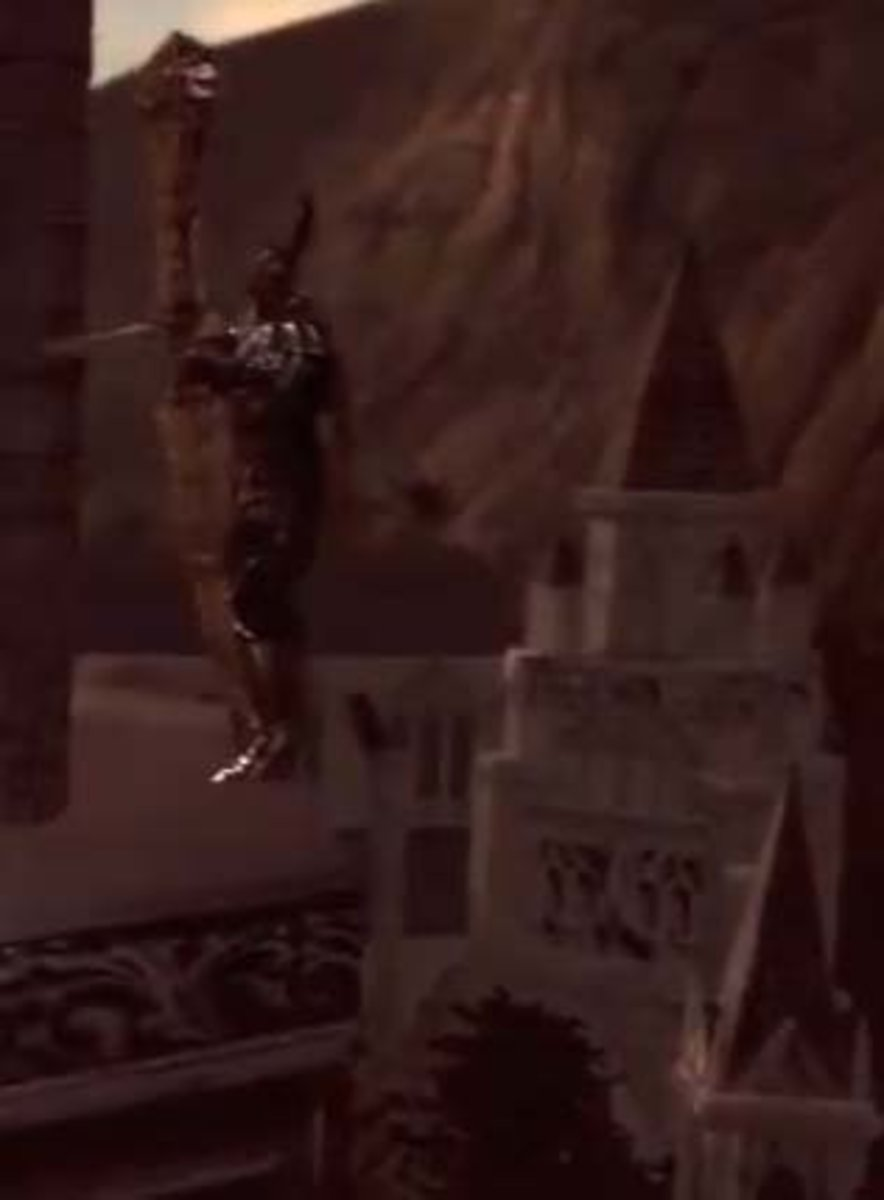 Dark Souls Anor Londo Running Beyond the Knight Archers to Reach the Third Bonfire