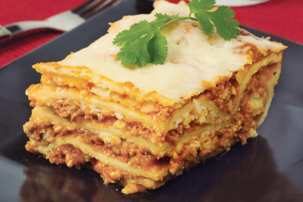 This is a great twist on the traditional lasagna recipe and is incredibly simple.