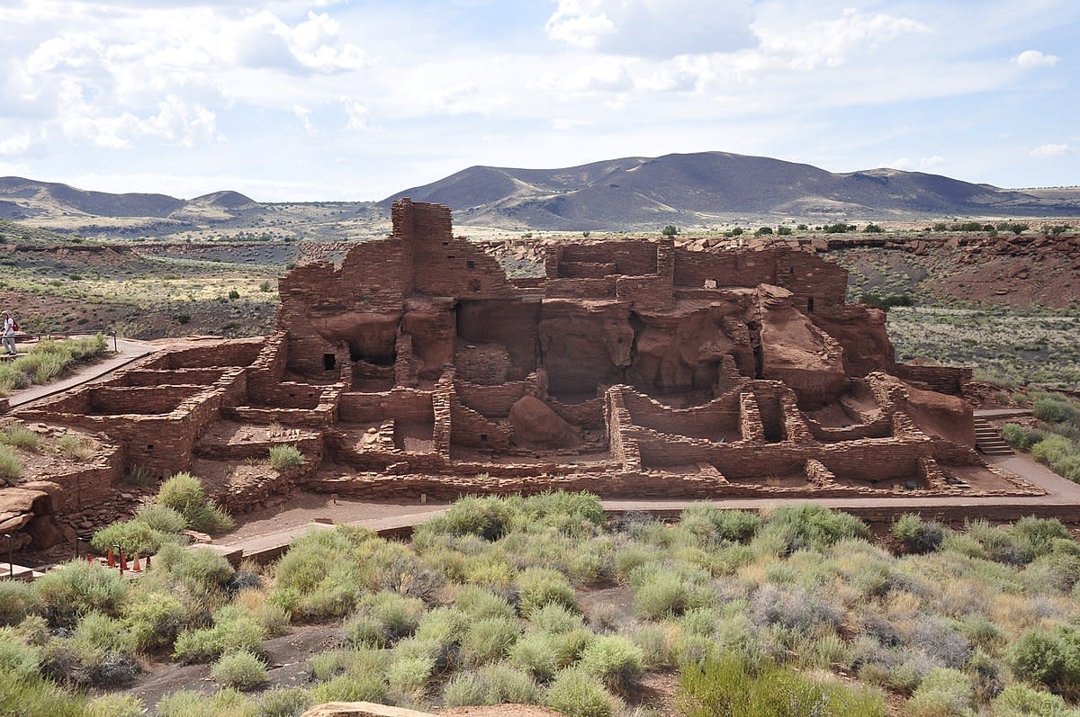 Wupatki National Monument: 12th-Century Native American Ruins in Arizona