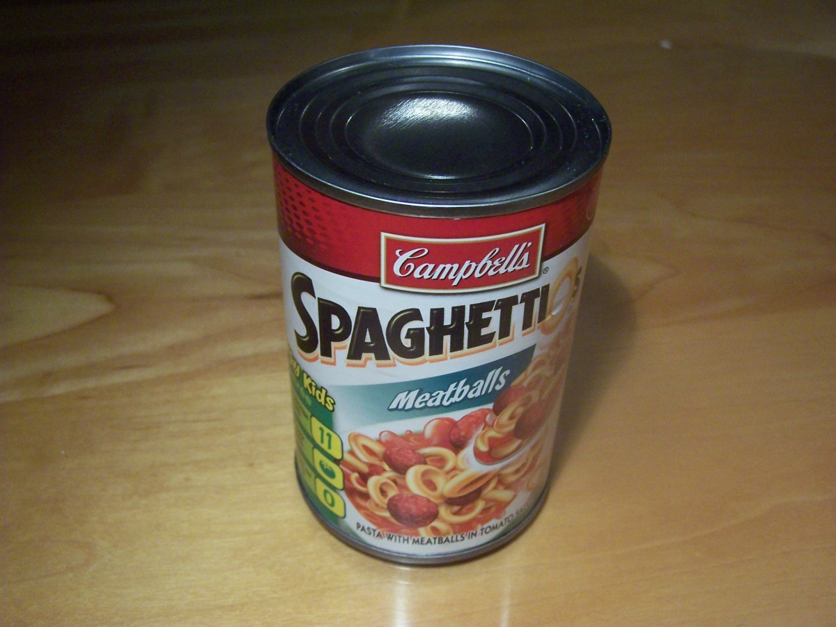Think of a cylinder as a canned good.