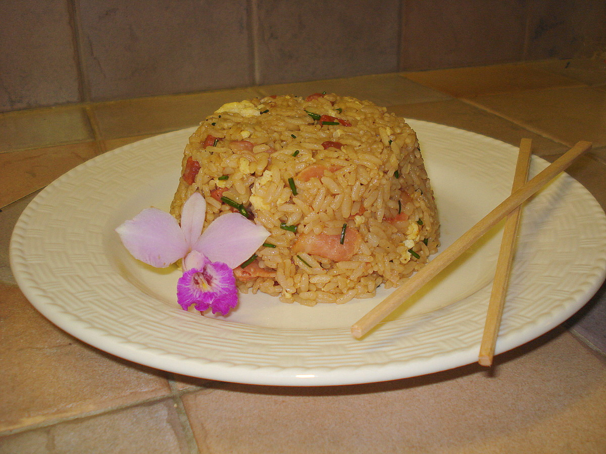 ONO Hawaiian-Style Fried Rice Recipe
