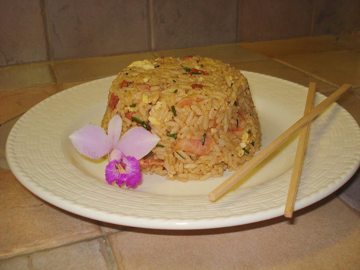 TattooKitty's Fried Rice (with BACON!)  Mwahaha!