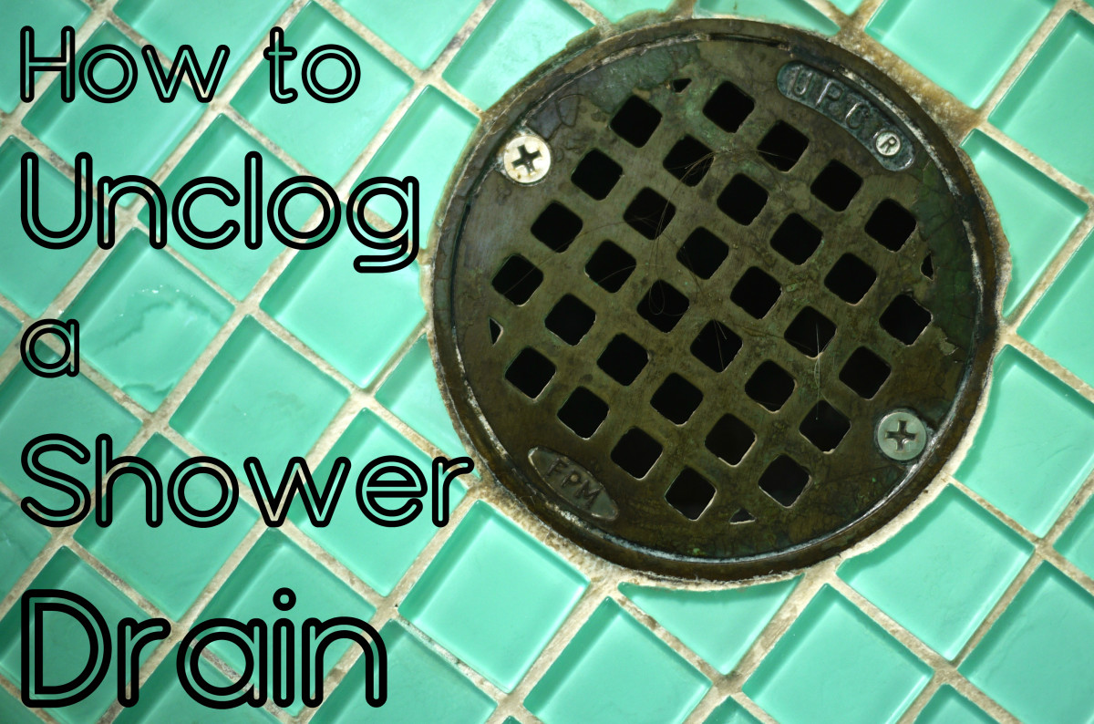 How to clear a clogged shower drain 8 methods dengarden - How to clean bathroom sink drain ...