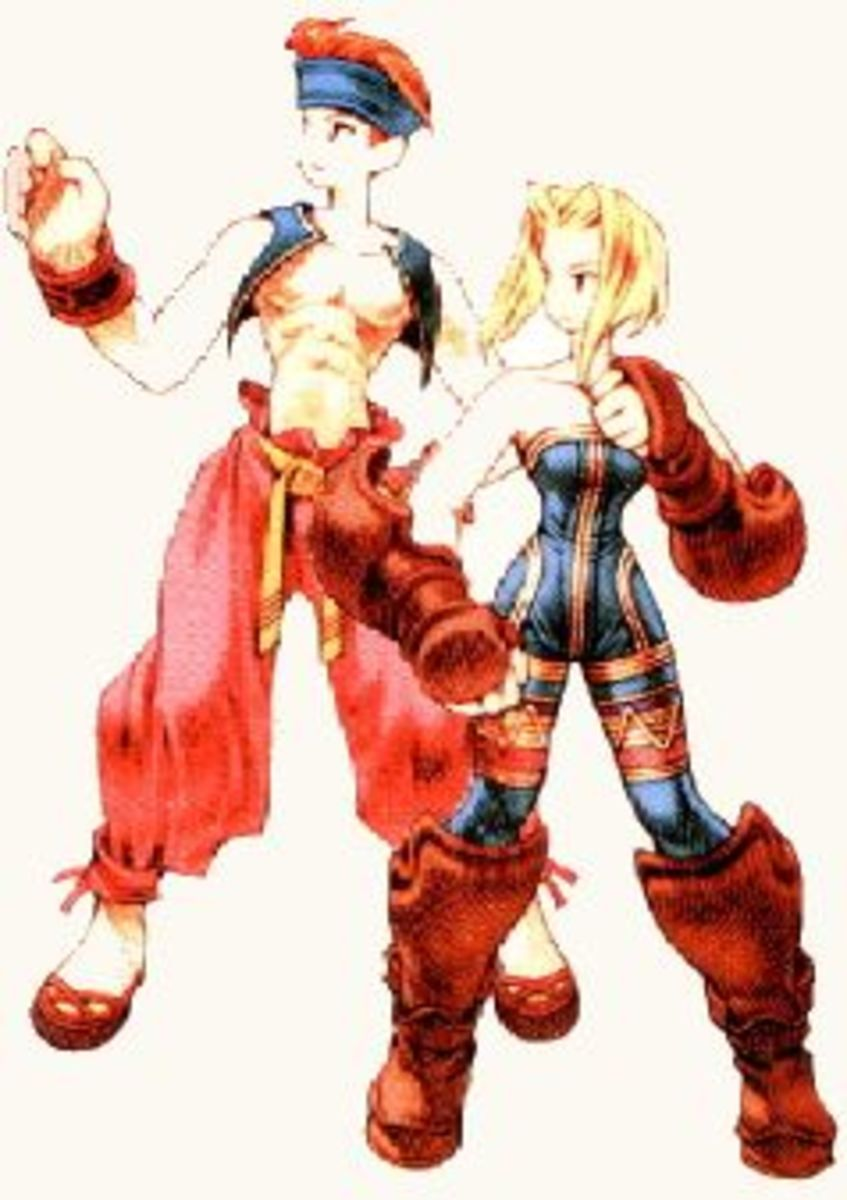 What, you were expecting Goku? FFT's monks fit the bill of the qinggong monk pretty well, when it comes down to it.