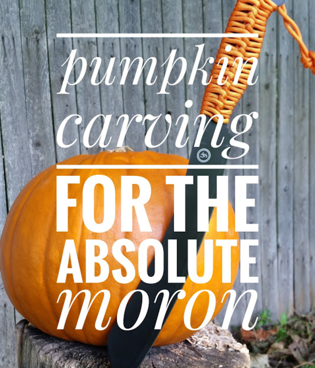 Pumpkin Carving for the Absolute Moron