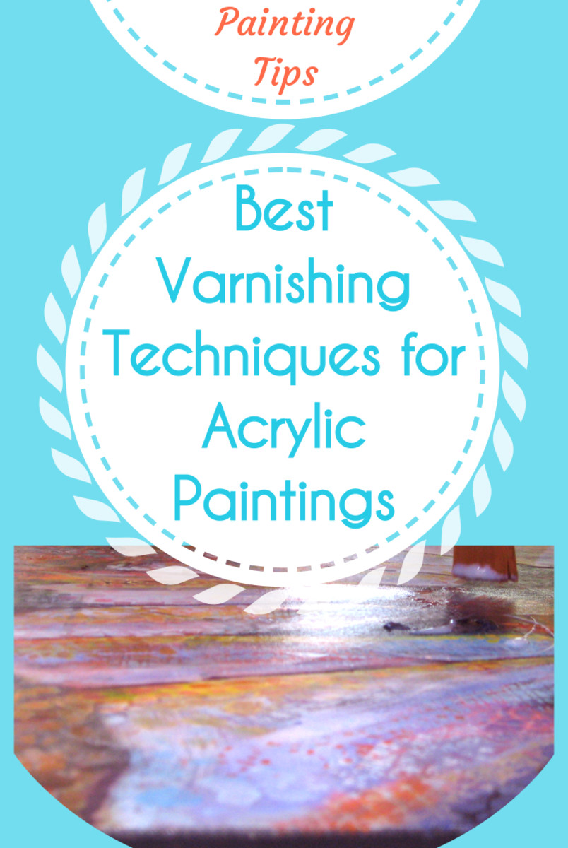 Varnishing step-by-step. Your acrylic painting is complete. As a final step, apply the best varnishing techniques to protect your artwork, and getting it ready to hang or to be sold. Learn how to brush on or spray the varnish, and how to remove it.