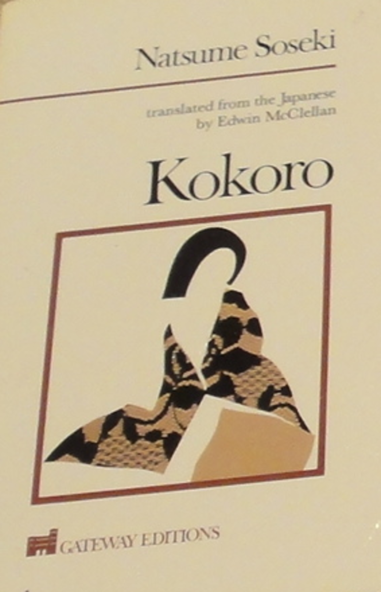 """an analysis of the novel kokoro by natsume soseki The text analyzed is a fragment from the novel """"kokoro"""" by the japanese author nastume soseki in the analysis i the novel kokoro by natsume soseki is."""