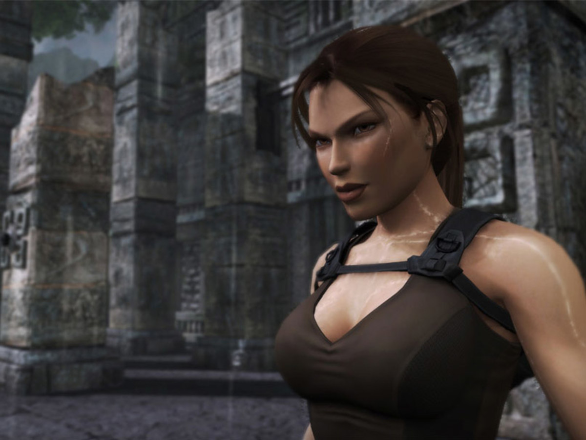 Lara Croft Tomb Raider Makeup Guide