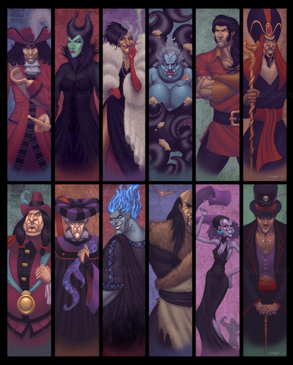 The Top 10 Most Evil Disney Villains