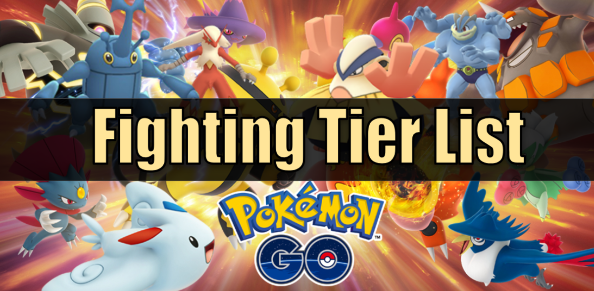 """Pokemon Go"" Fighting Type Tier List"