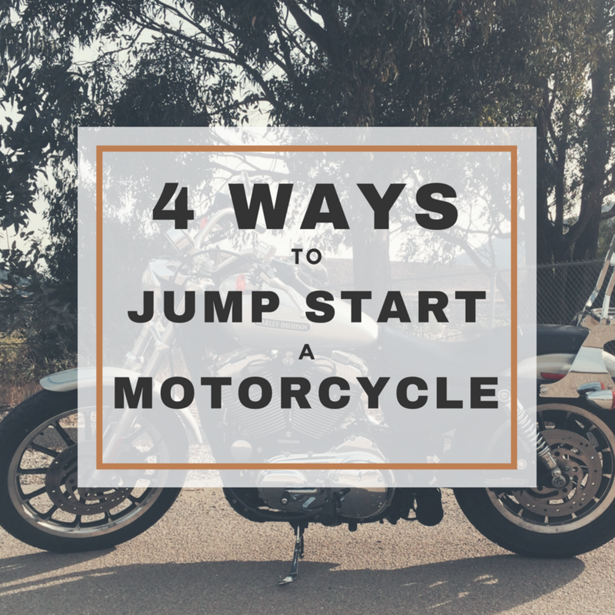 4 Ways to Jump Start a Motorcycle