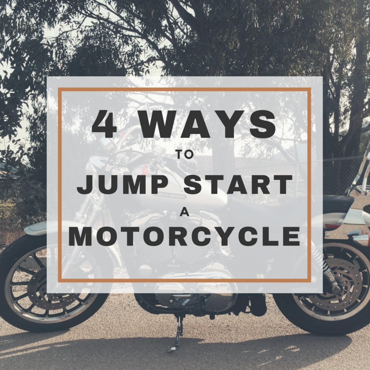 4 Ways to Jump Start a Motorcycle | AxleAddict