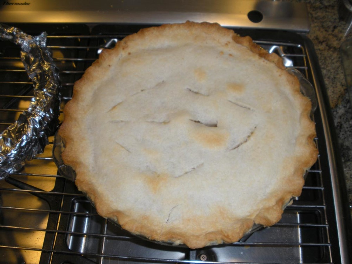 Pie Crust Recipe: Quick; Easy; Foolproof; Idiot-Proof, With Photos