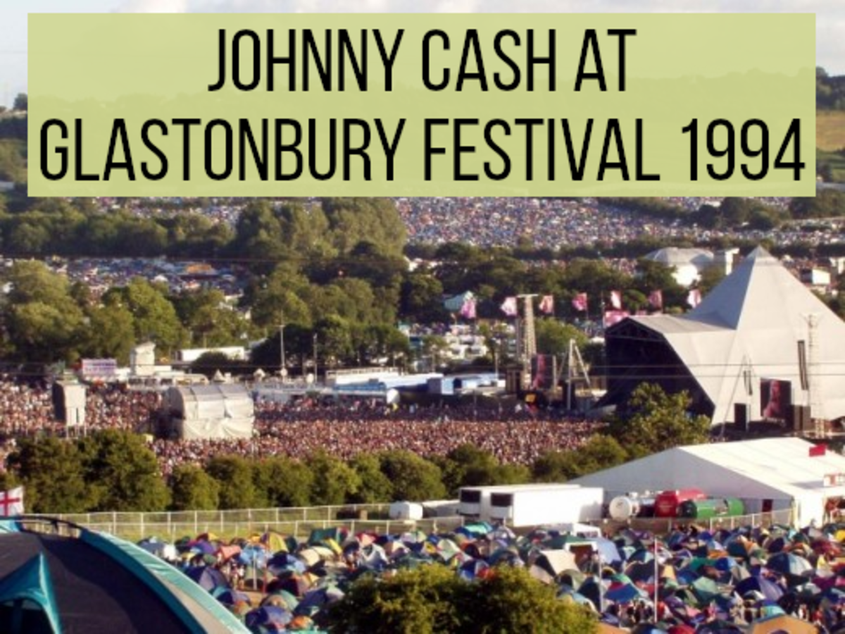 Classic Concerts: Johnny Cash at Glastonbury Festival 1994