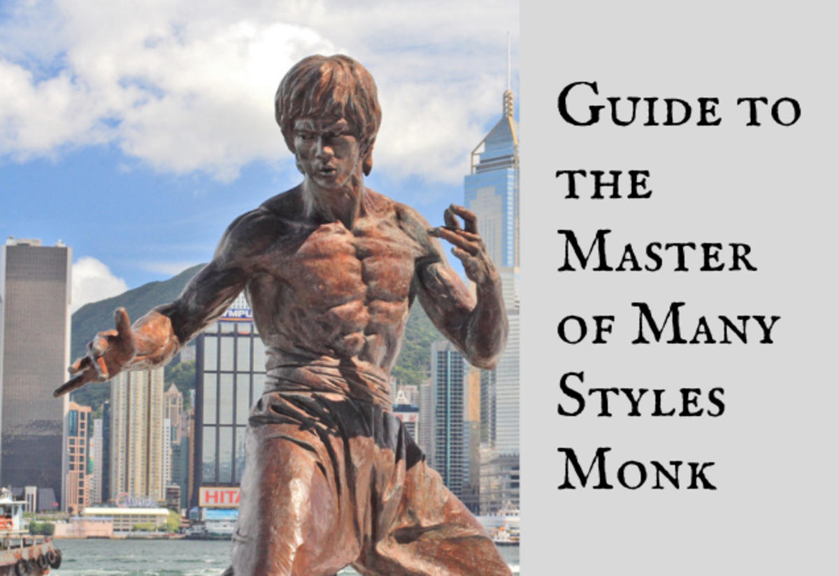 A Guide to the Master of Many Styles Monk (Pathfinder)