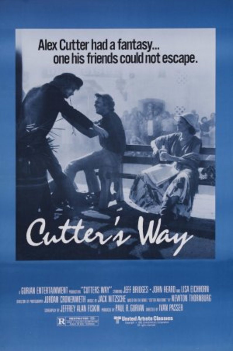 Cutter's Way movie poster