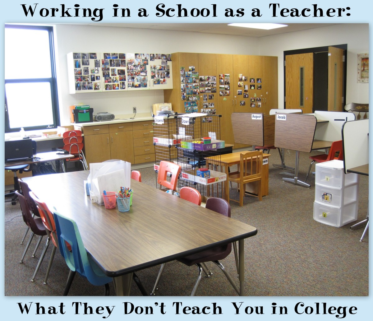 Working in a School as a Teacher: What They Don't Teach You in College