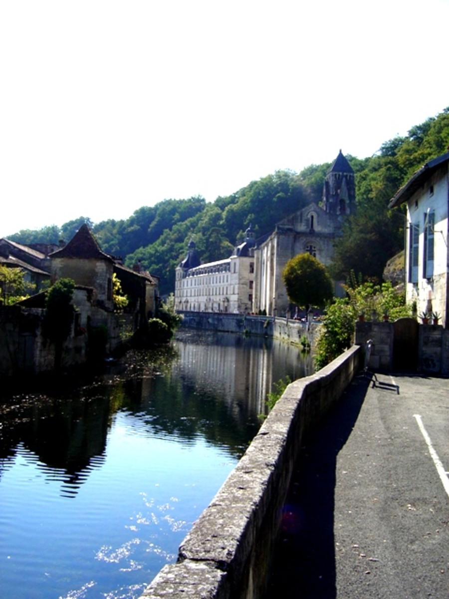 Brantome is catagorized as one of the most beautiful villages in France