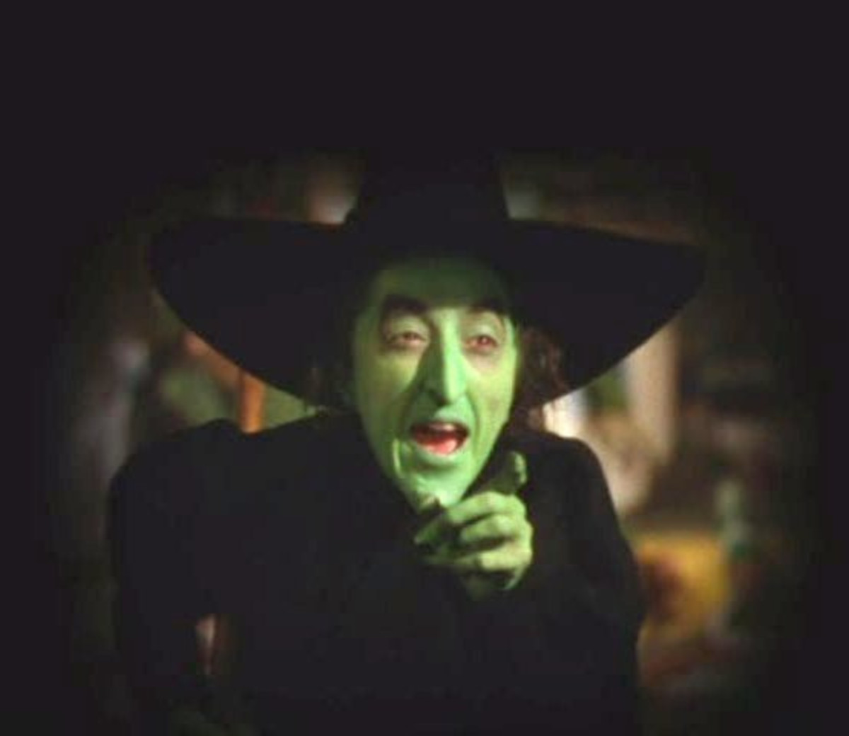 "Margaret Hamilton as the Wicked Witch of the West in ""The Wizard of Oz""; 1939."