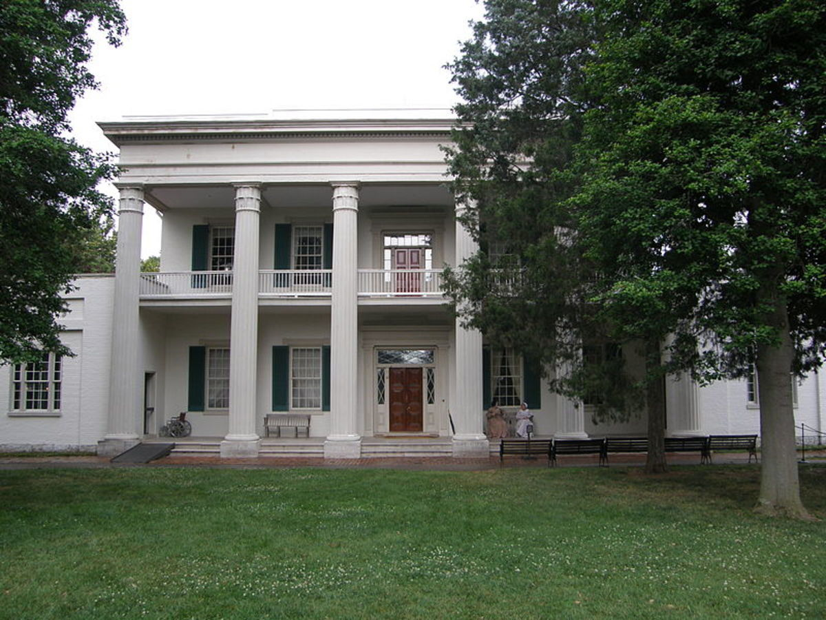 President Andrew Jackson Home Photos, The Hermitage in Nashville, Tennessee