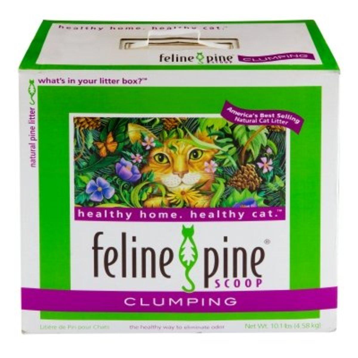 Feline Pine: A Great Alternative Cat Litter