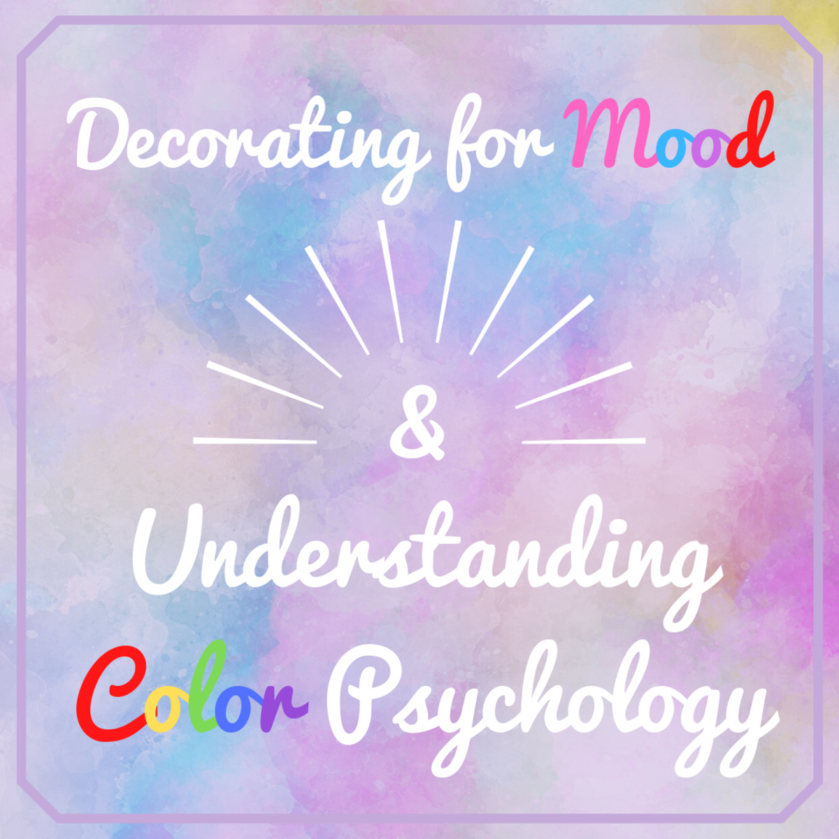 This article will break down some fundamentals of color psychology and help provide you with information on how to best use color around your home.