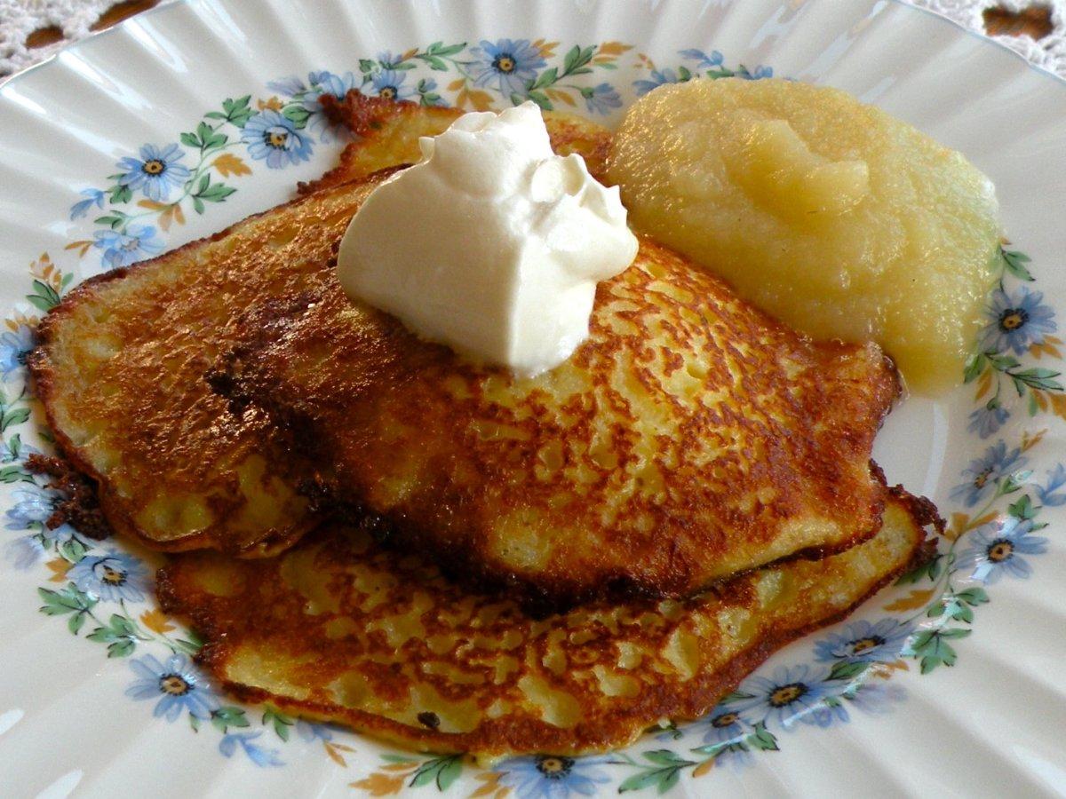 Potato Pancakes Recipe- Just Like Mom's, But Easier
