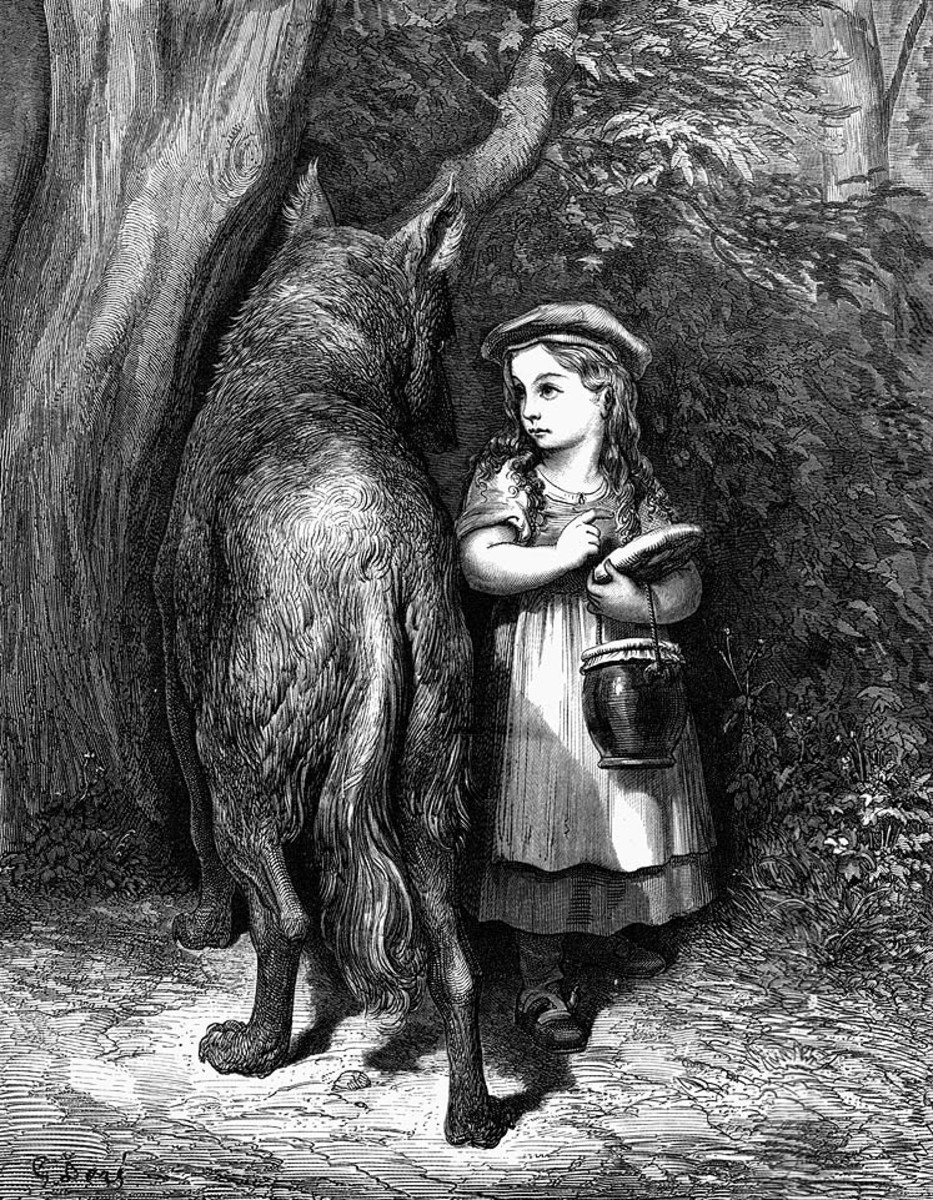 Little Red Riding Hood, by Gustave Dore