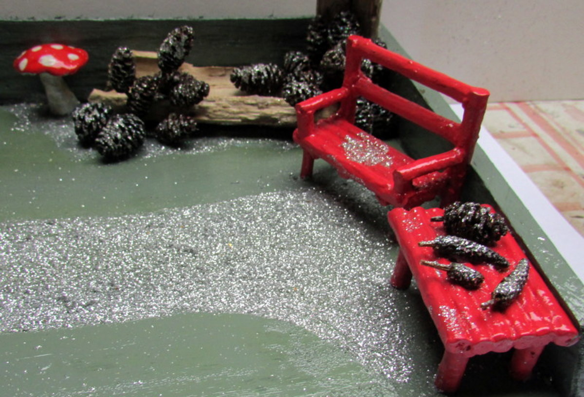 How to Make a Wooden Bench for a Fairy House
