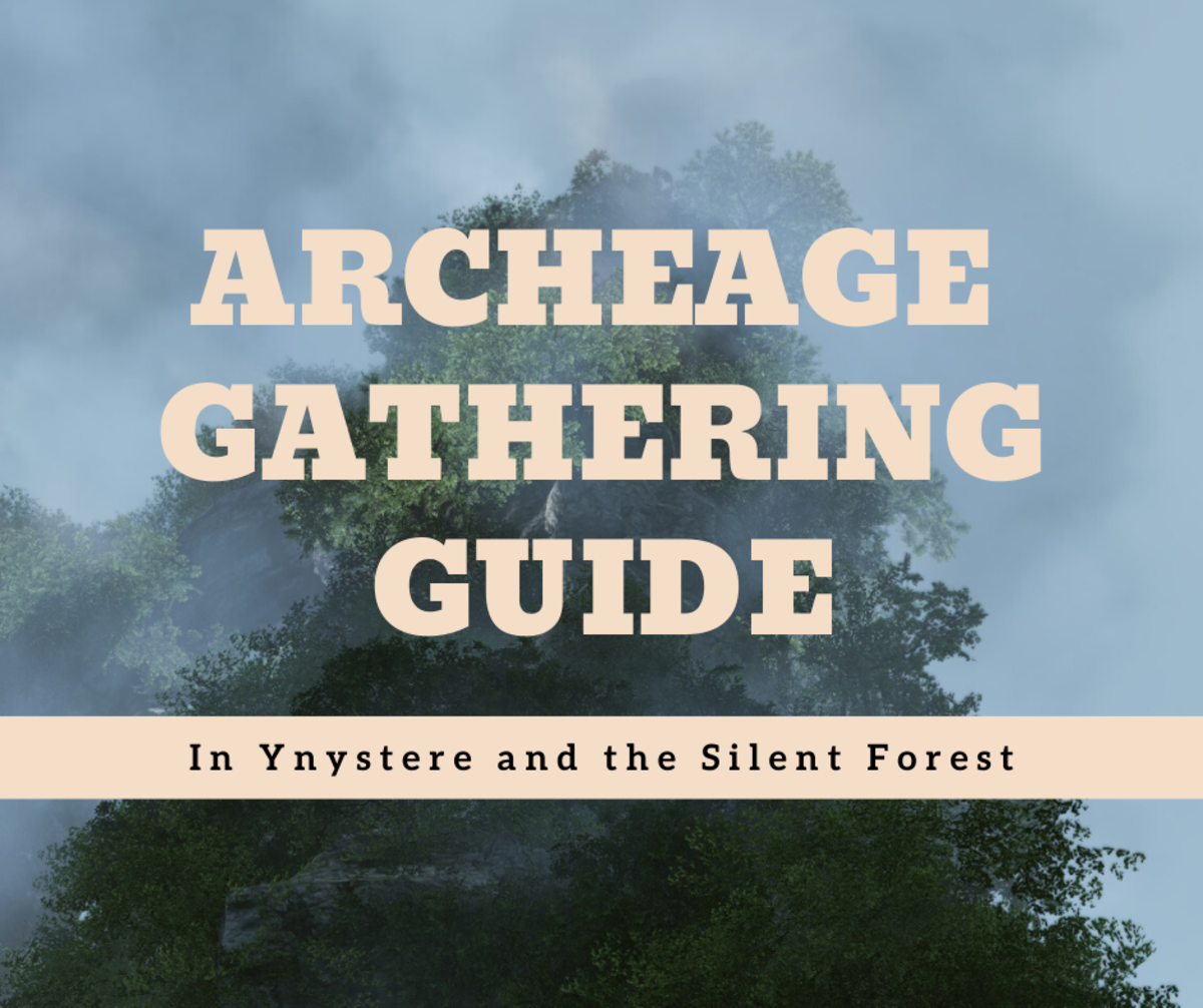 """""""Archeage"""": A Gathering Guide for Ynystere and the Silent Forest"""