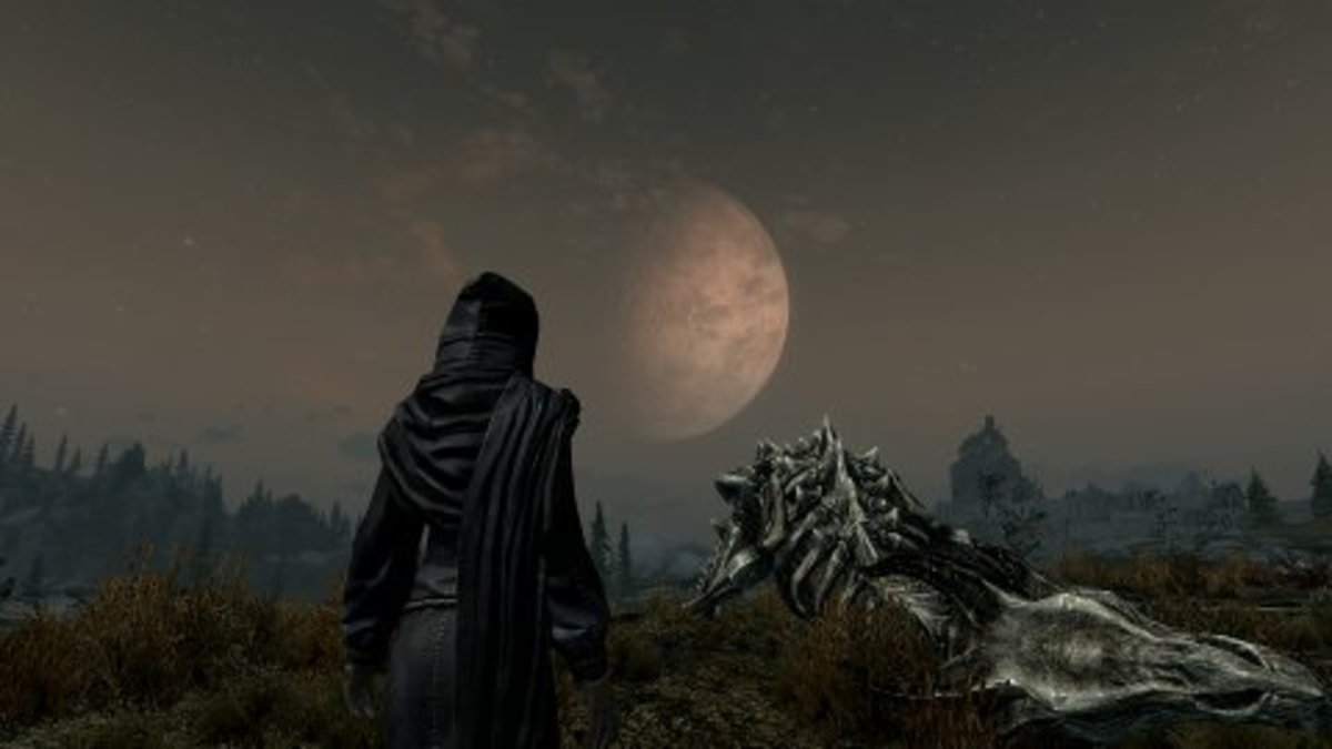 How to Remove the Compass and Crosshair in Skyrim