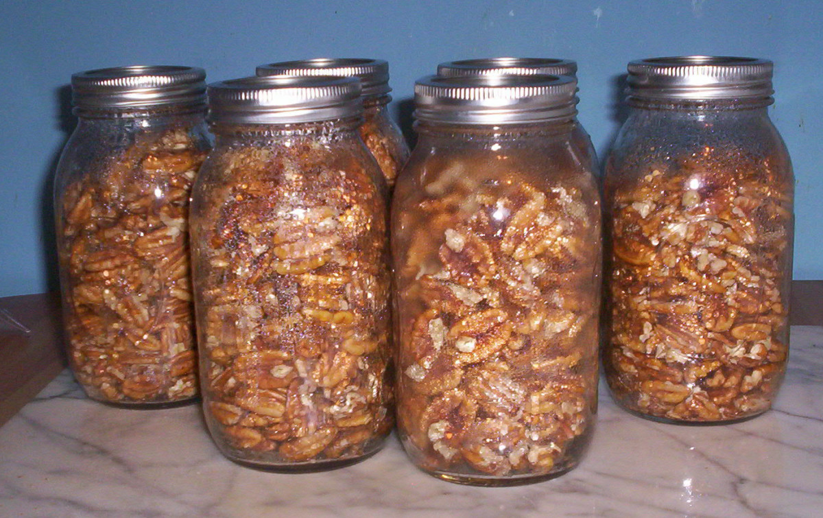 How To Preserve Pecans And Other Nuts In Mason Jars