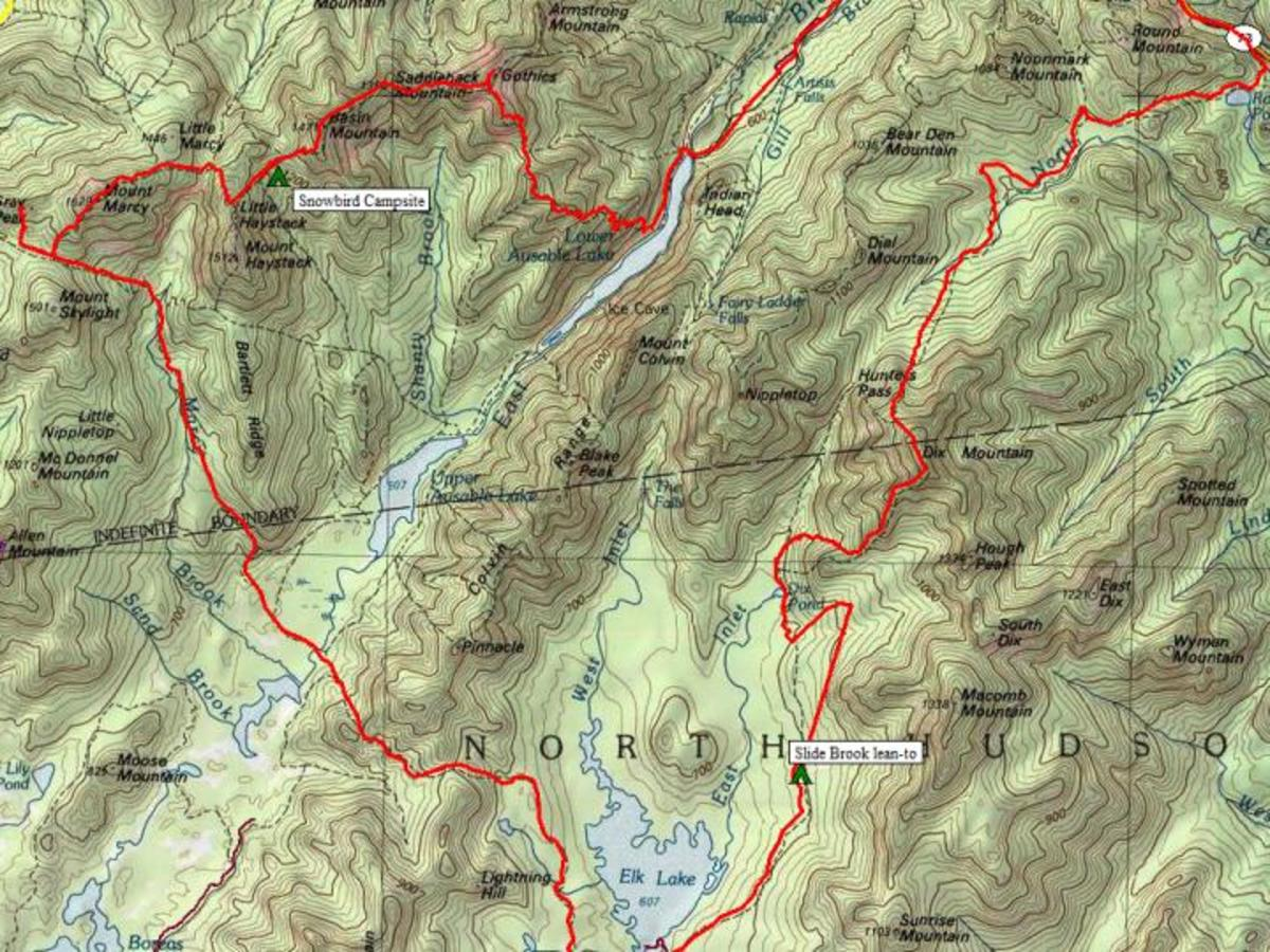 How to Finish Your Adirondack 46 with a Trail Backpacking Loop Over Seven High Peaks
