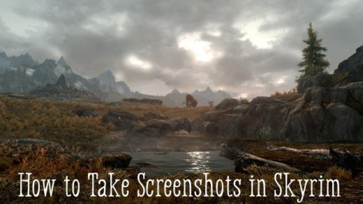 How to Take Screenshots in Skyrim