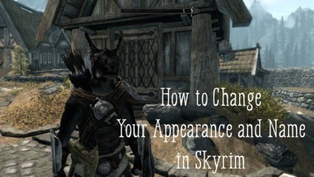 "How to Change Your Appearance and Name in ""Skyrim"""