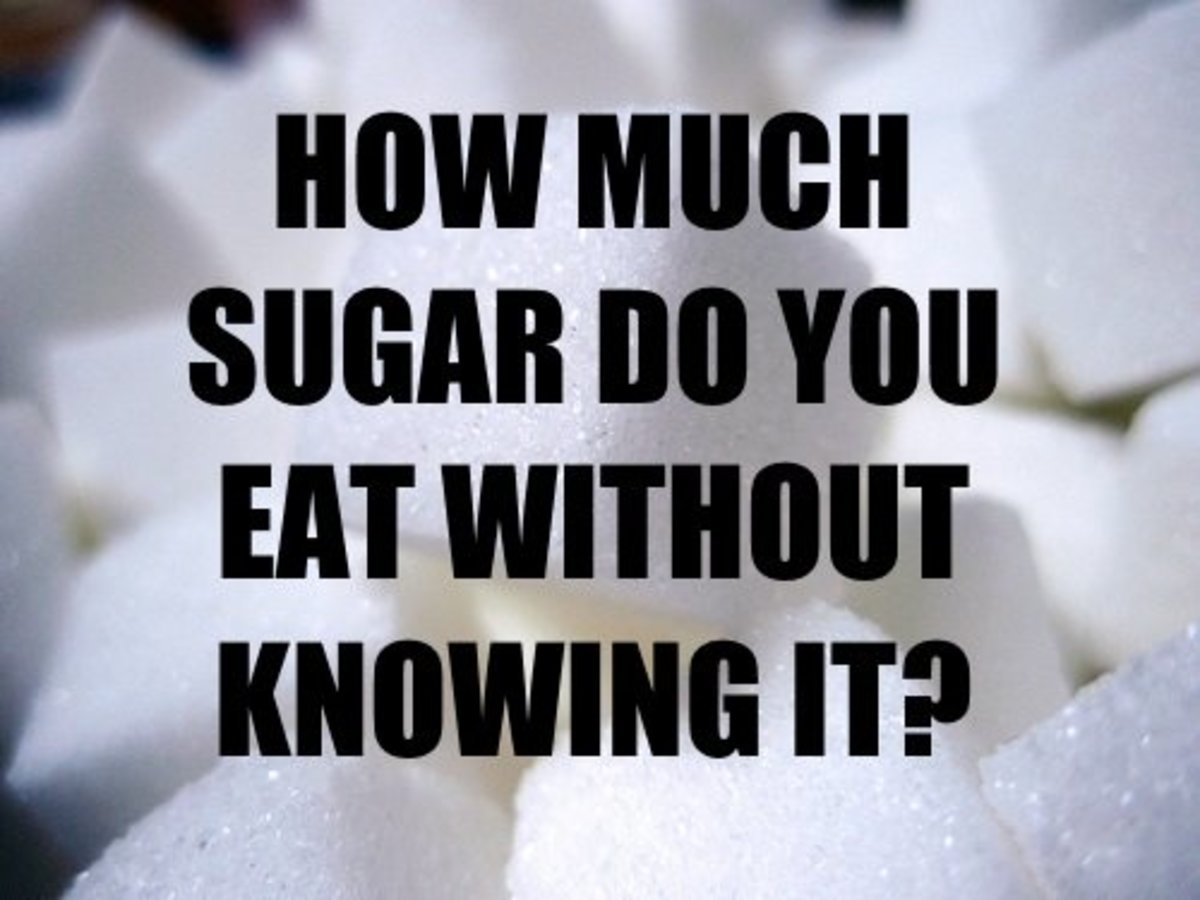 Sugar Content of Foods in Photos