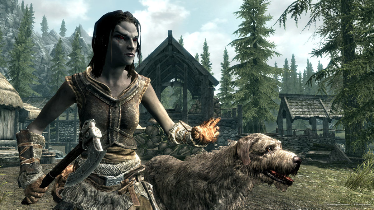 How to Cure Vampirism in Skyrim