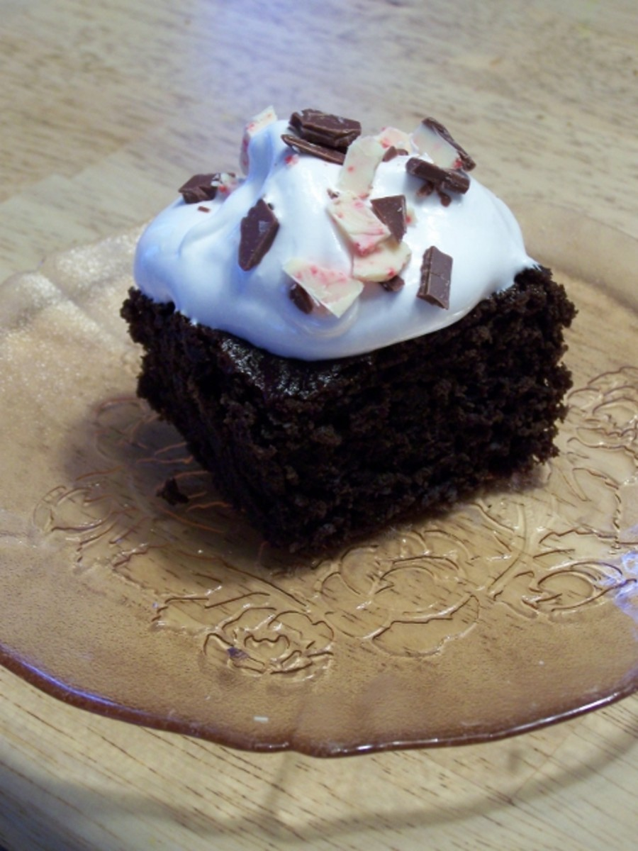 Snowy White Frosting and Easy Mayonnaise Chocolate Cake Recipes.