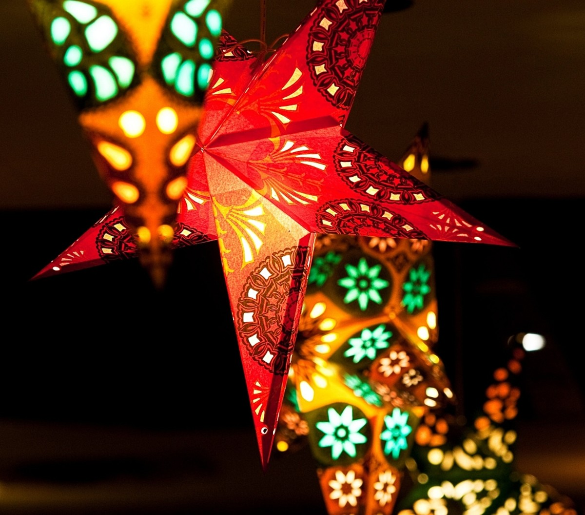Parol or Philippine Christmas Star Lantern