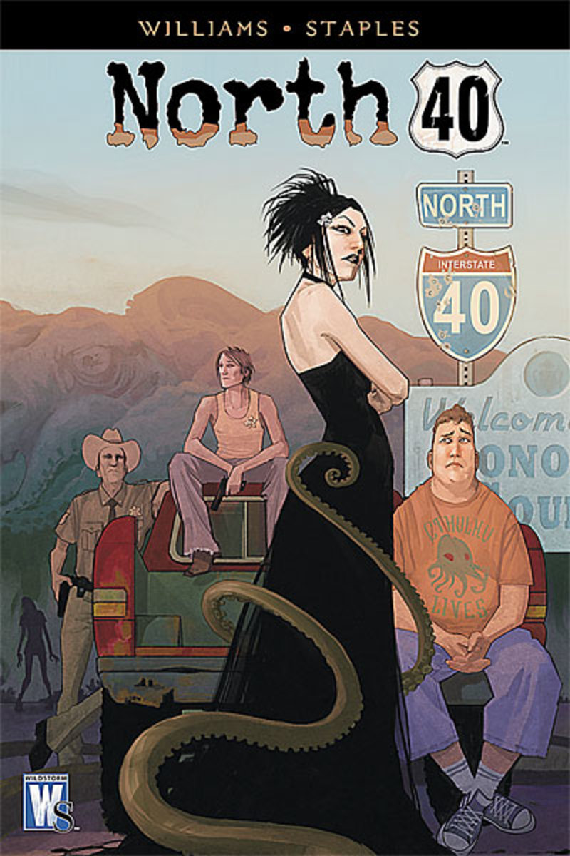 North 40: A Spine-Chilling Horror Graphic Novel Series