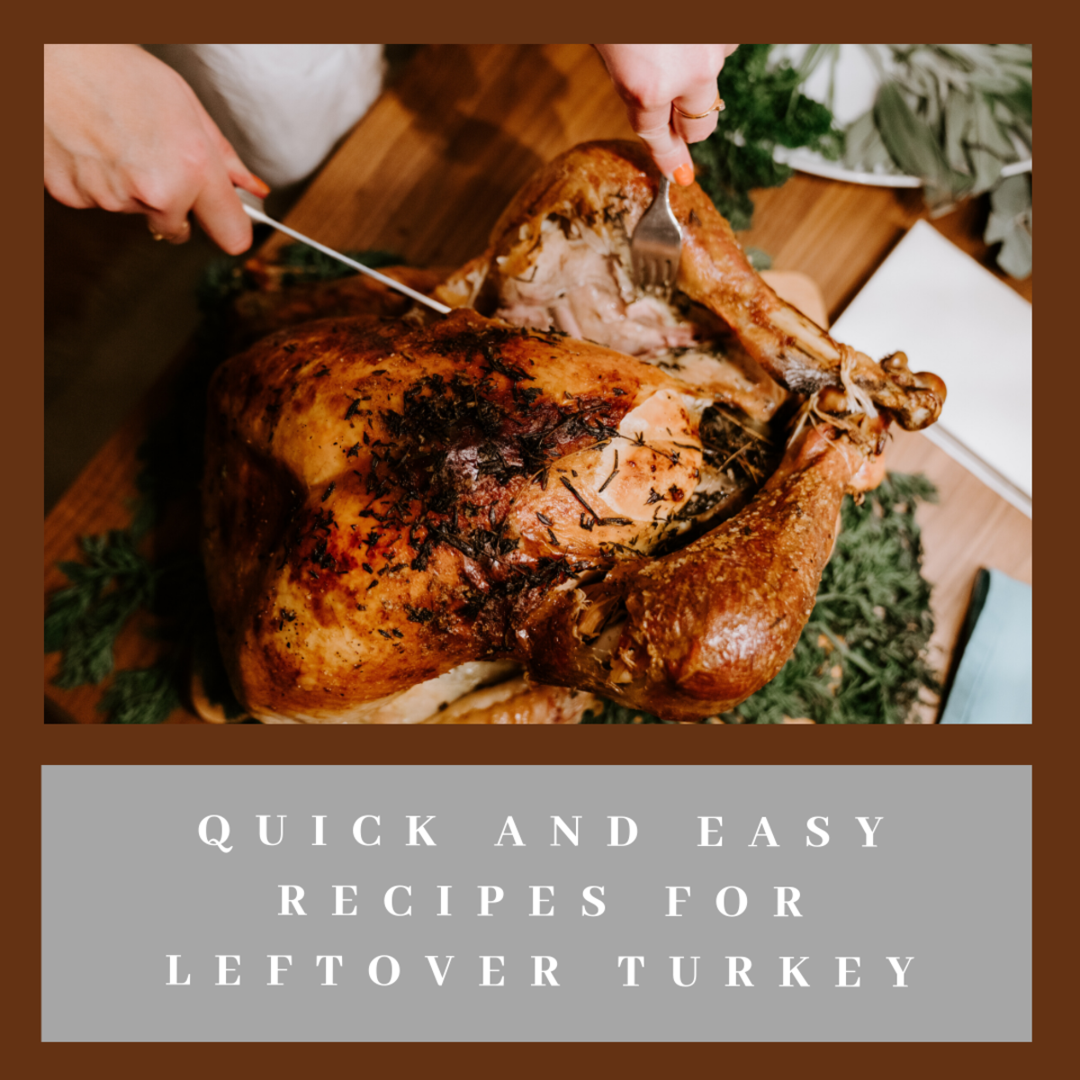 Don't let your leftover turkey go to waste.