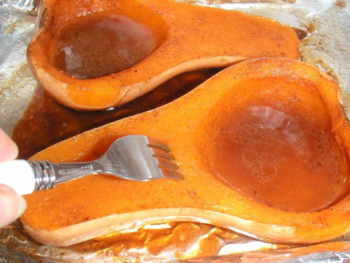 Butternut Squash - How To Bake It