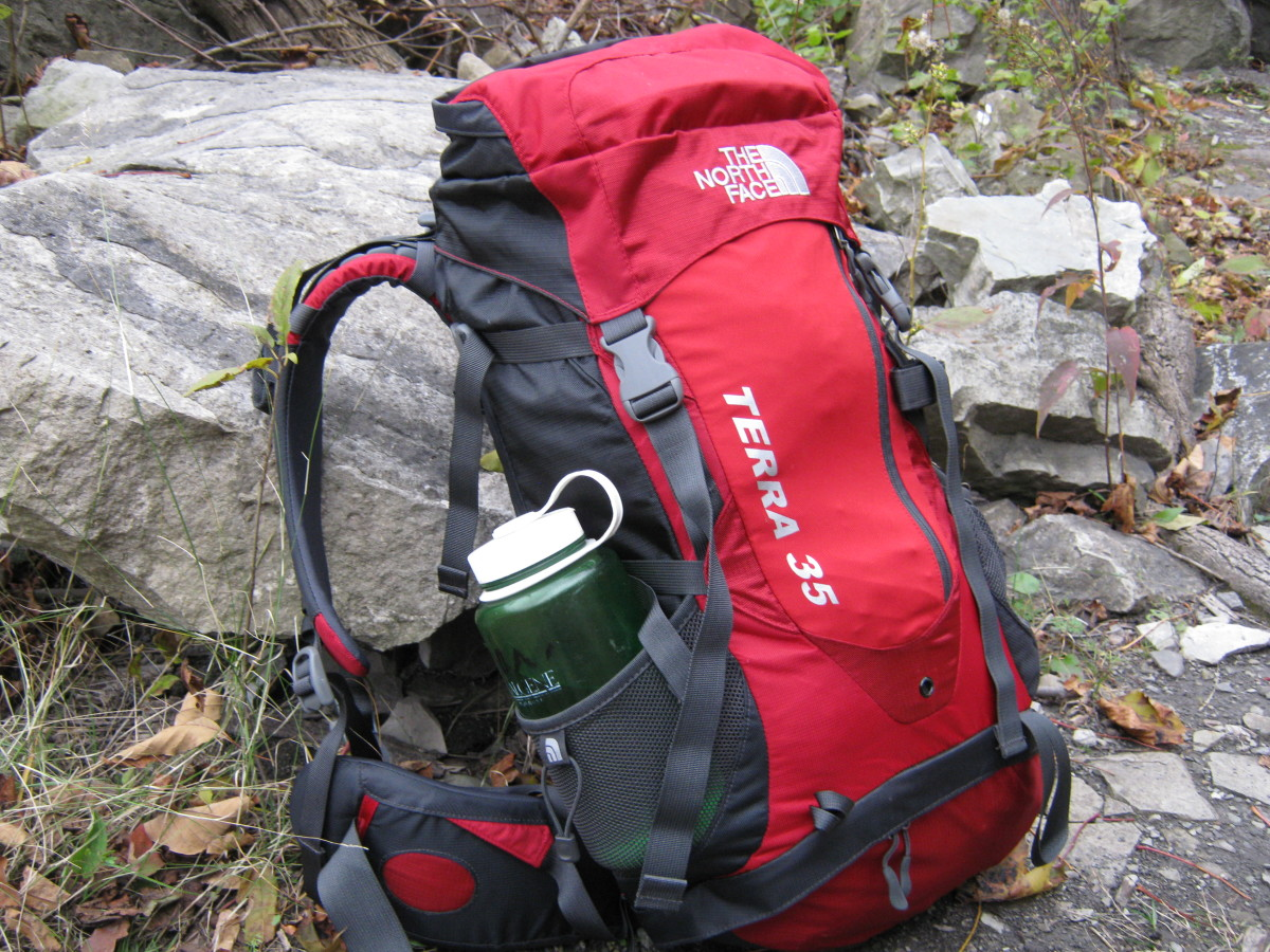 Review of the North Face Terra 35 Backpack as a SAR 24 Hour Pack