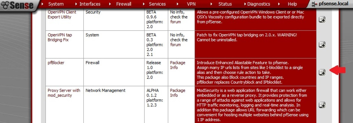 How to Configure pfBlocker: An IP List and Country Block Package for