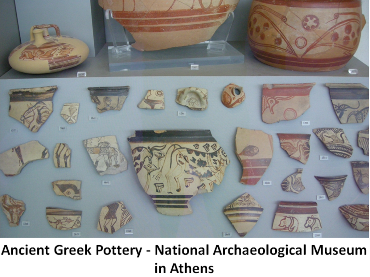 Ancient Greek Pottery Designs
