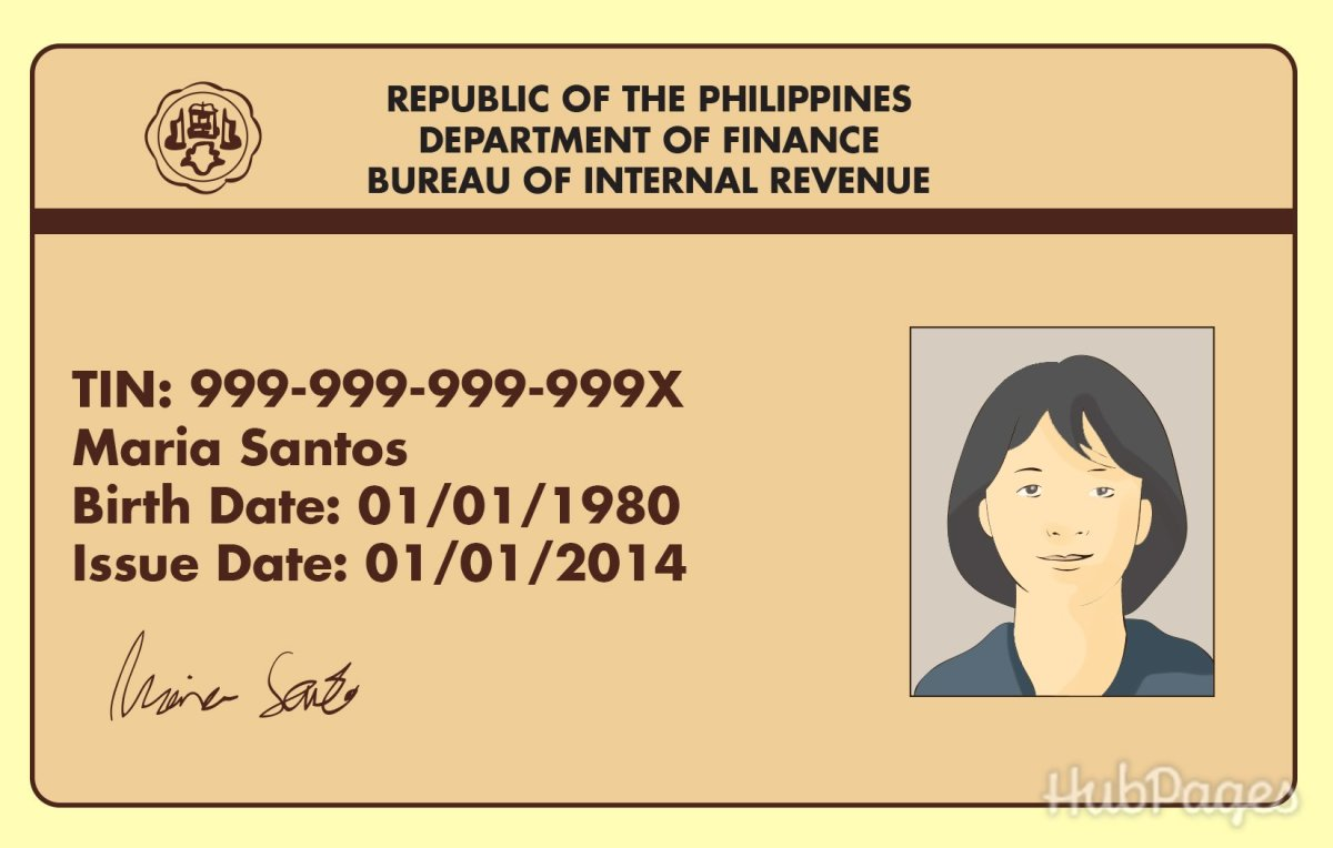 A Tax Identification Number ID card