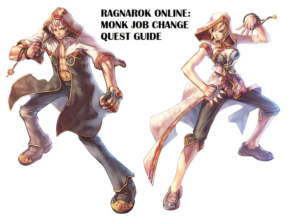 "The guide covers the Job Change Quest for the Monk class in ""Ragnarok Online."""