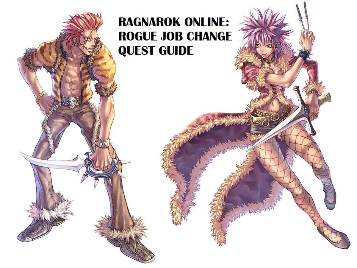 Ragnarok Online Rogue Job Change Quest Guide