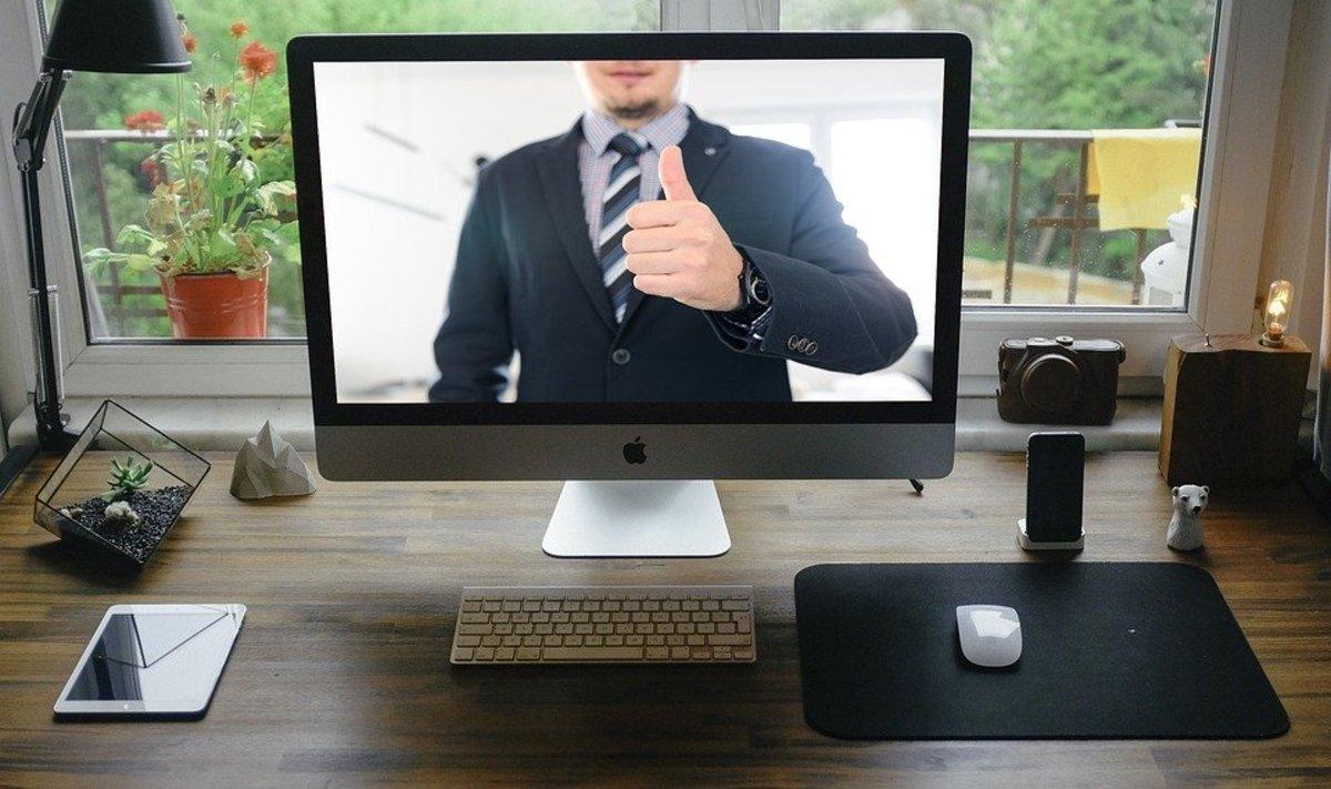 这些提示将帮助您指导您的虚拟职位面试。